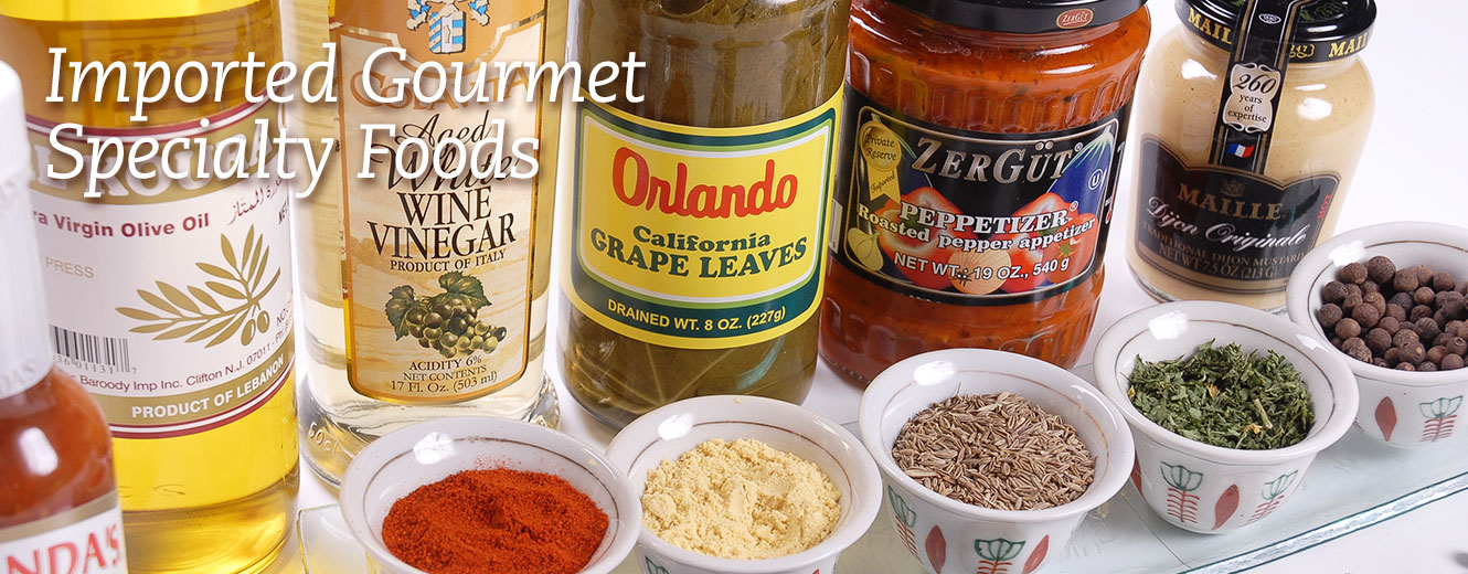 Imported Gourmet Specialty Foods