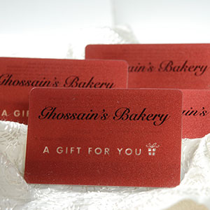 Ghossain's Gift Cards